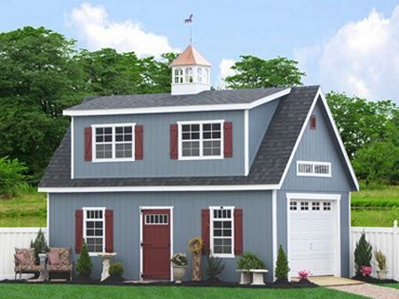 1000 images about sheds on pinterest plywood boat wood Two story garage apartment