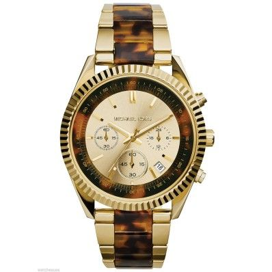 Michael Kors MK5963 Clarkson Chronograph Champagne Tortoise Shell Womens Watch Features:  Brand: Michael Kors  Gender: Womens  Condition: Never Worn  Model: MK5963  Dial Color: Champagne & T