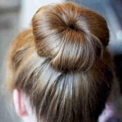 Donut para cabello #pelo #cabello #peinado