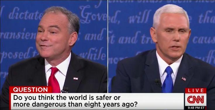 Chris Matthews: Pence Won Debate, Kaine Seemed ?Desperate?