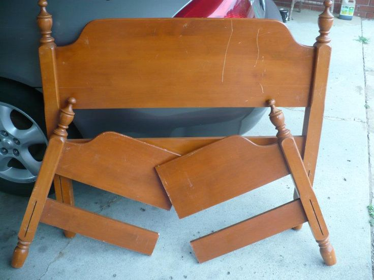 Another Bench Project From an Old Bed | Hometalk
