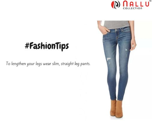 Now, get a taller look! ‪ #StraightPants #slim #NalluCollection