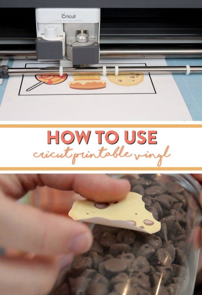 photo regarding How to Use Printable Vinyl known as How In the direction of Retain the services of Cricut Printable Vinyl Cricut Jobs How towards