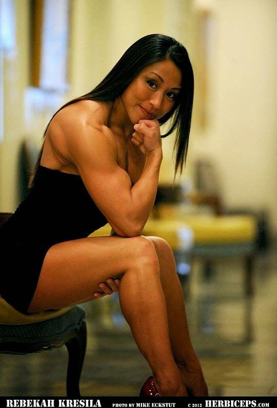 sex Asian female bodybuilder