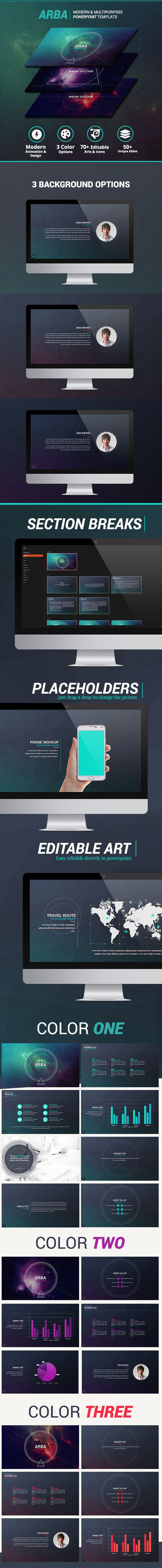 Arba - Modern Powerpoint Template