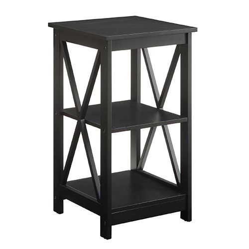convenience concepts oxford black end table