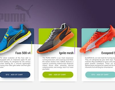 """Check out new work on my @Behance portfolio: """"Puma sport shoes for running and soccer"""" http://be.net/gallery/32538359/Puma-sport-shoes-for-running-and-soccer"""
