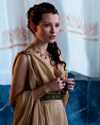 "Emily Browning- ""Pompeii"" I just seen this movie, great movie! And she caught my eye ;)"