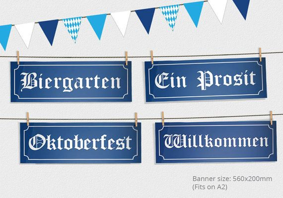 Oktoberfest partij tekenen en Bunting – Oktoberfest Sign – Oktoberfest partij – Oktoberfest versieringen – Oktoberfest afdrukbare Design e7302563206954c6b4b3739218e35ee3  oktoberfest decorations party signs