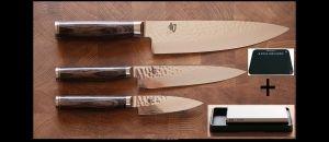 Le couteau japonais TIM MALZER Shun premier est  la toute nouvelle série de KAI Corporation (lancée en Septembre 2010), spécialement conçue pour le 30ème anniversaire de la filiale européenne située à Solingen en Allemagne
