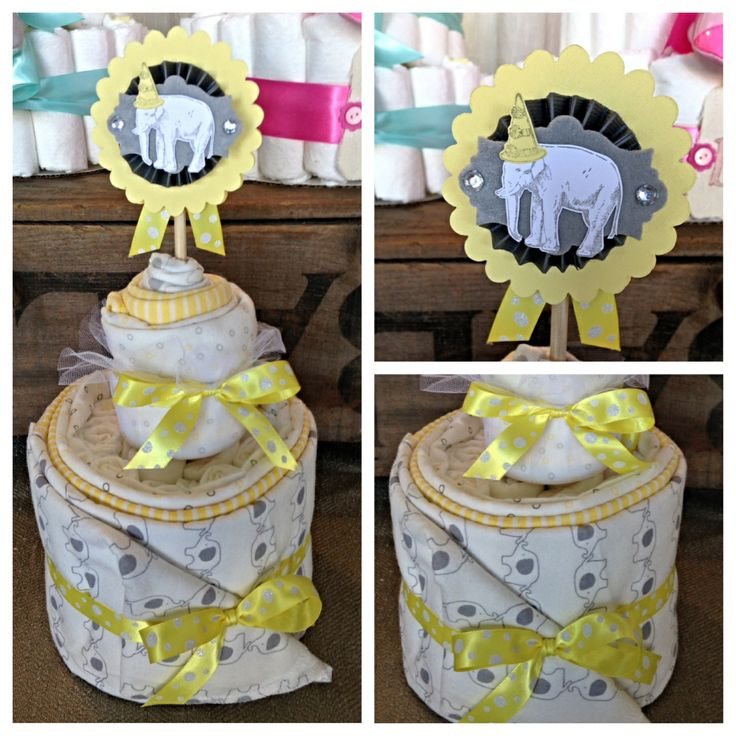 Onesie Cake With Cupcakes