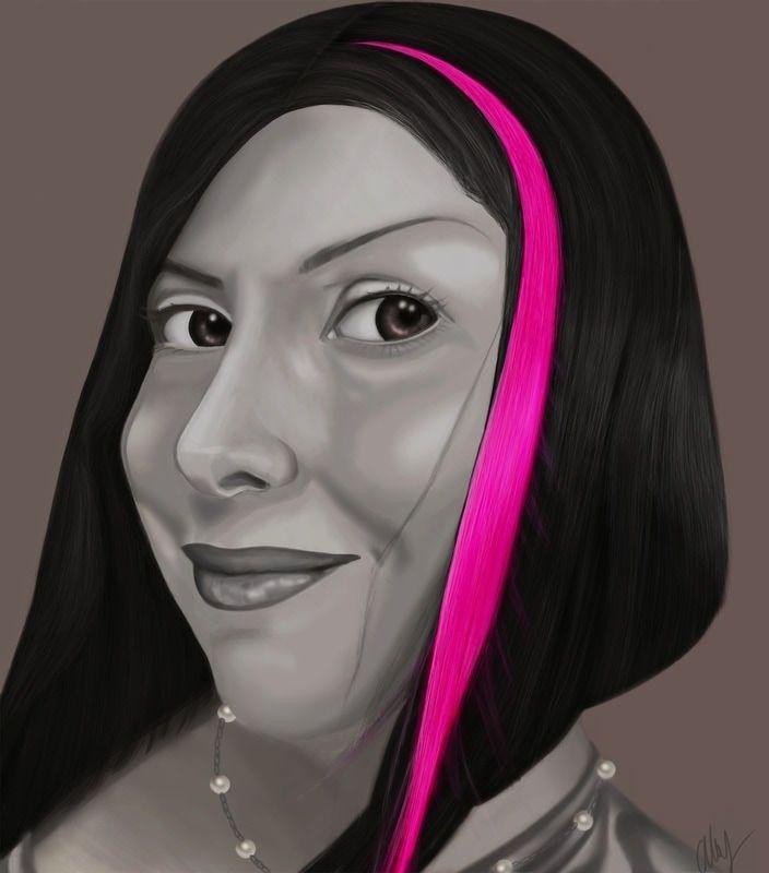 Abby Lippitt- Spotlight -Solo Art Exhibit - International Gallery Of The Arts (IGOA)- Self Portrait- WWW.ABVACIOUSVIBE.COM  abby@abvaciousvibe.com