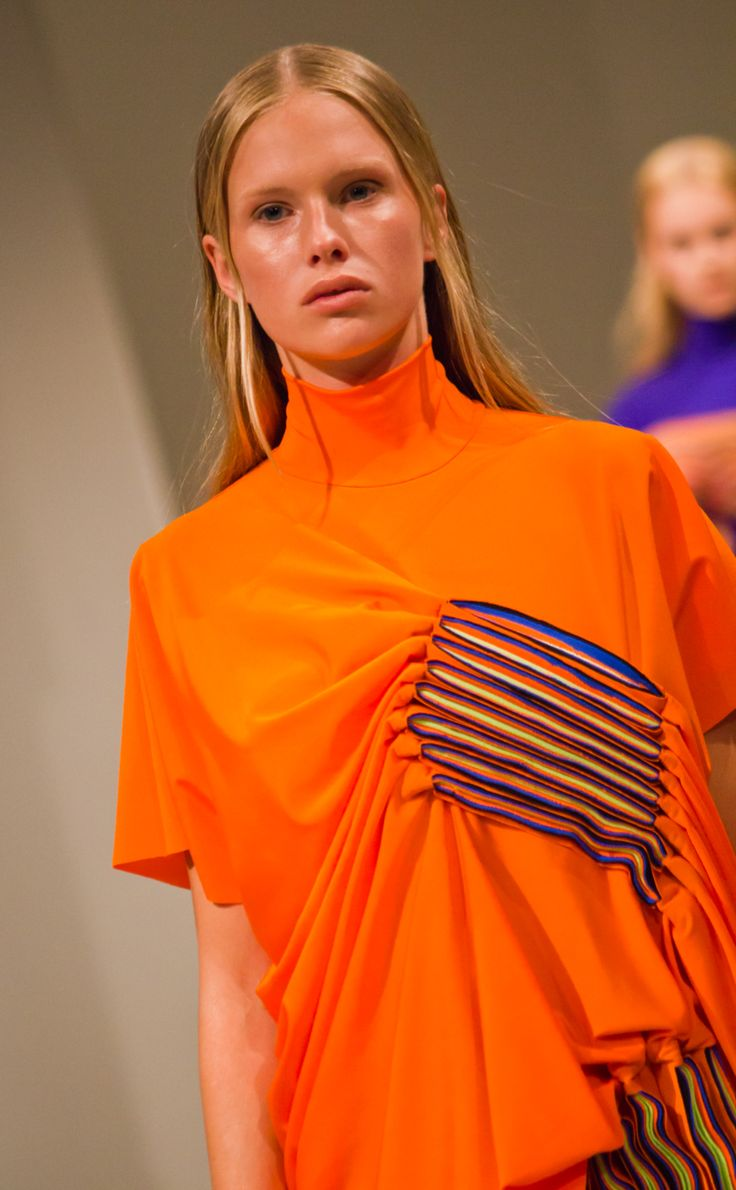 Just Pleat It, Hanna Freese, Graduation Collection 2014, Borås. Photo by Sampo Axelsson,