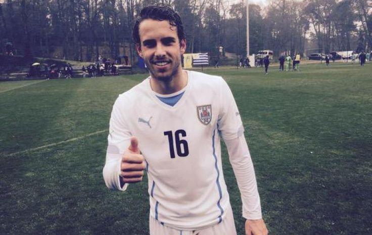 Diego Poyet debutó con Uruguay