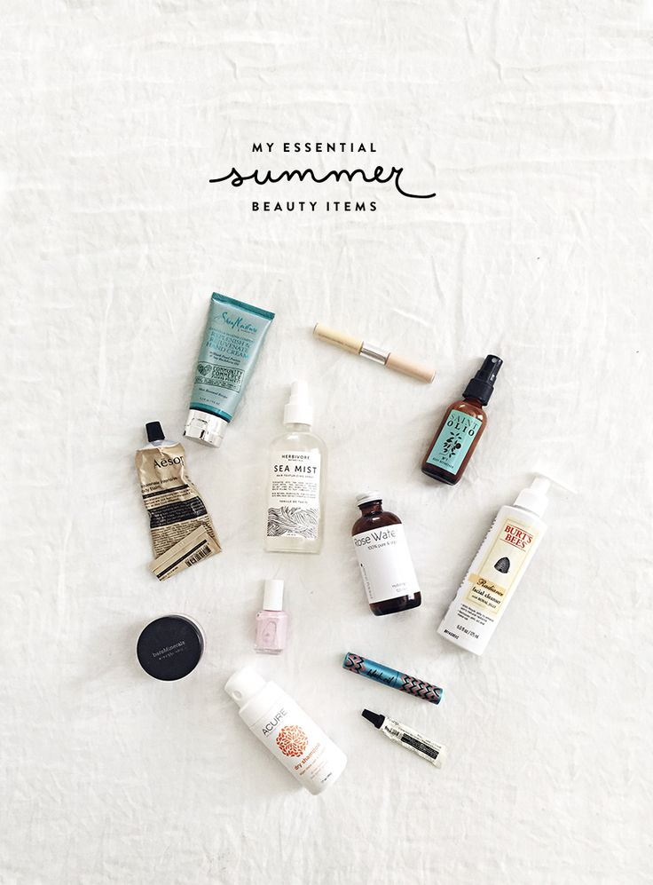 My Essential Summer Beauty Items     The Fresh Exchange