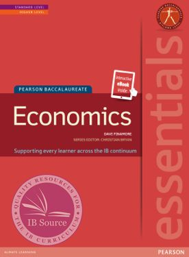 Essentials: Economics Textbook + eBook -Pearson Education IBSOURCE ISBN: 9781447950370