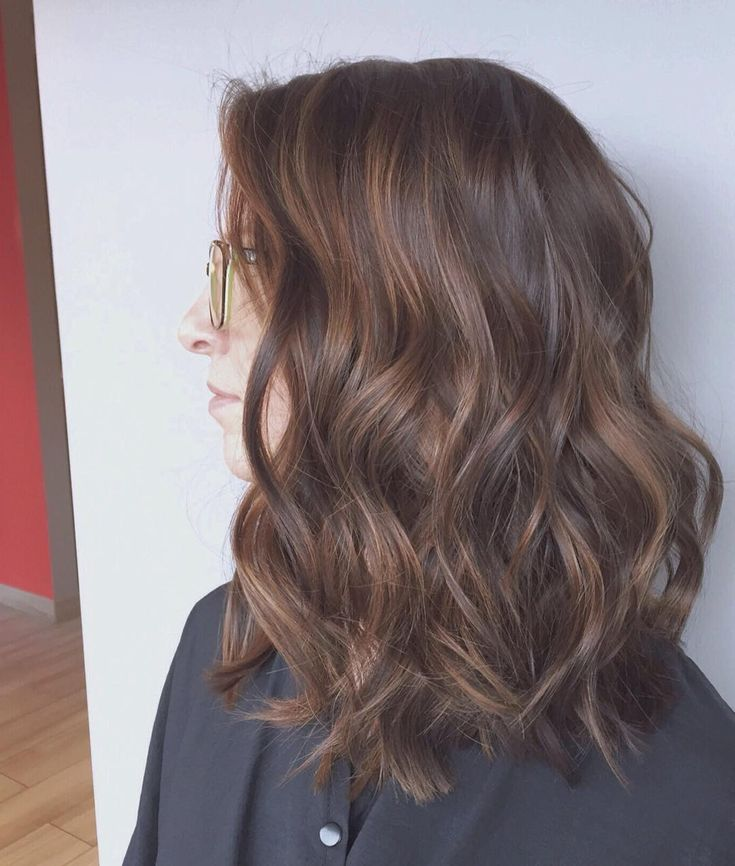 Pretty brunette with babylight balayage :: RedBloom Salon