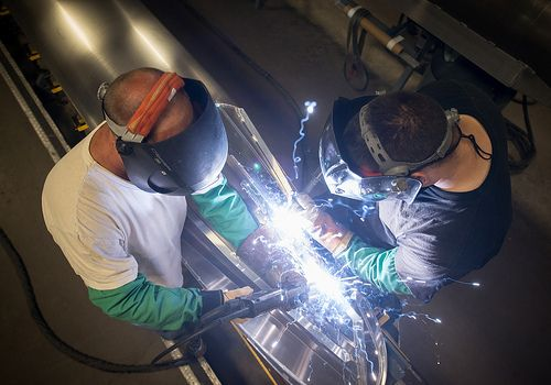 Best welds in the industry. Welding aluminum is truly an art form.