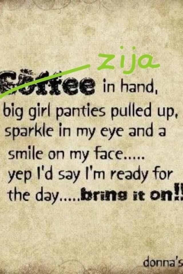 With Zija, you no longer need coffee. You won't even want it!