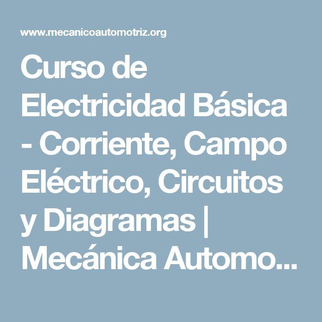 Curso de Electricidad Básica - Corriente, Campo Eléctrico, Circuitos y Diagramas | Mecánica Automotriz