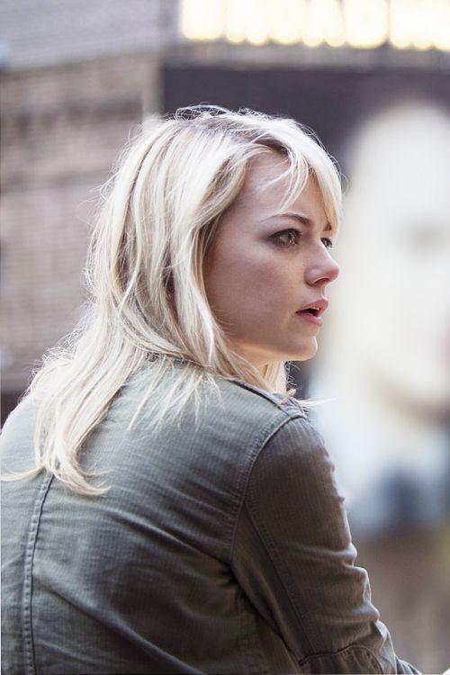 Emma Stone as Sam Thomson in Alejandro González Iñárritu's 'Birdman'
