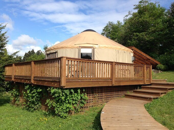2019 Yurt Cost How Much Does A Yurt Cost Yurt Prices Yurt Yurt Home Yurt Living ** felt lining is a complete cover (roof and walls) in 100% wool felt, 650g/m3, 5mm thick. yurt prices yurt yurt home yurt living
