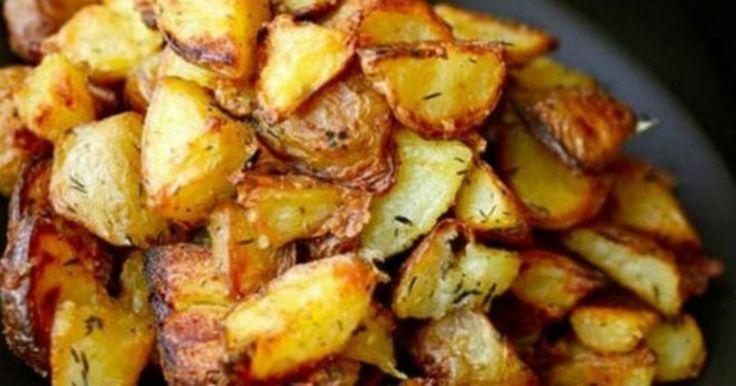 ΤΕΛΕΙΕΣ – Πατάτες φούρνου τραγανές σαν τηγανιτές με ένα απλό κολπάκι!