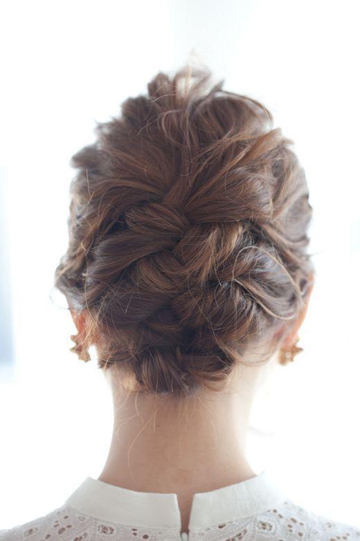 hair arrange for party
