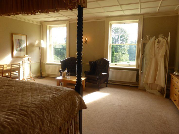 The dreamy Bridal suite #Devonweddings #Weddingvenue #Dartmoor