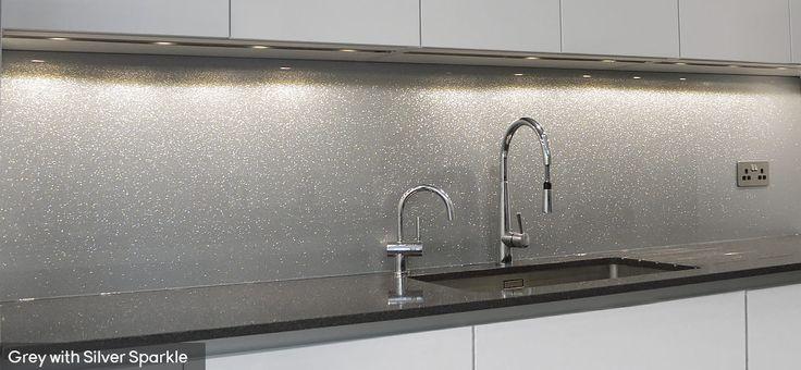 Glitter & Sparkle Splashbacks - CreoGlass | Kitchen Glass Splashbacks & Worktops