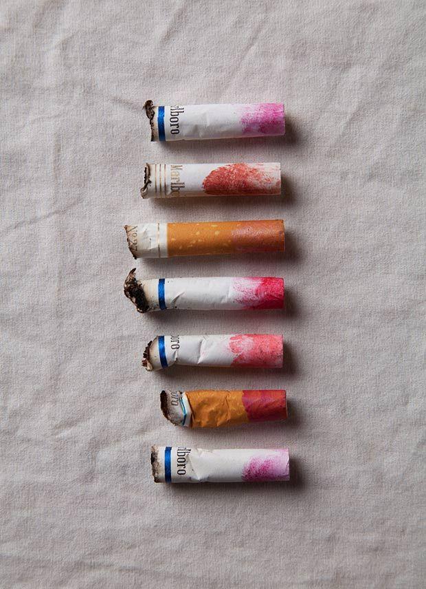Photo du Jour: Lipstick Stains - Feature Shoot