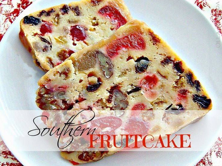 Fruitcake gets a bad rap. This white version is fruit and nut filled, rum soaked, and delicious.