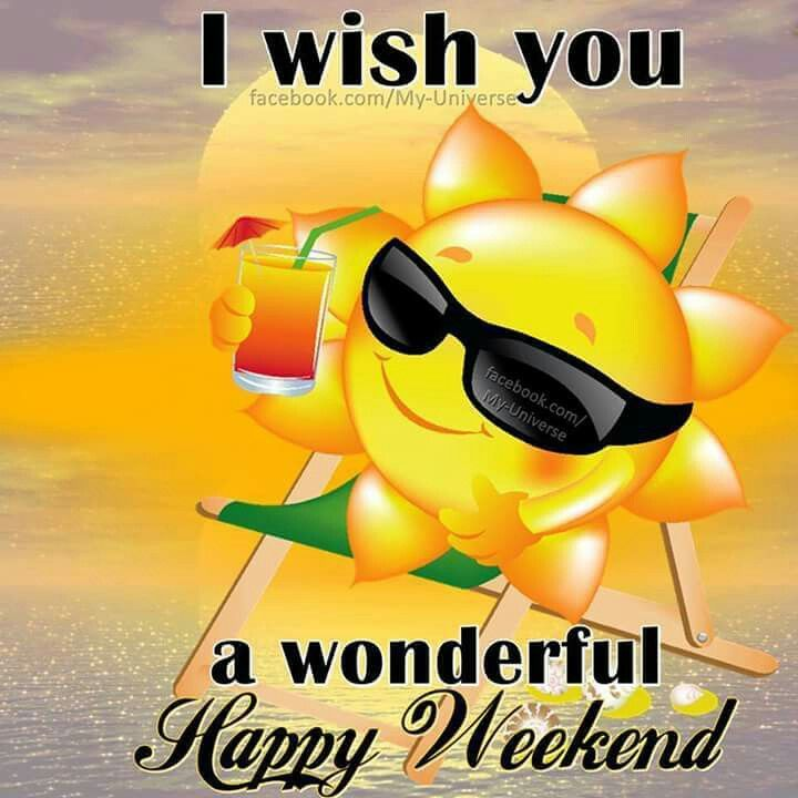 Happy Weekend, Morning Blessings And Blessings