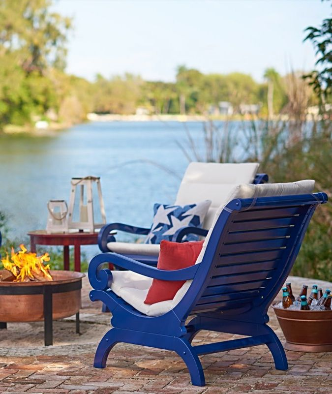 Our Solid Hardwood Plantation Chair Is Just The Thing To Turn Your Patio Or  Porch Into