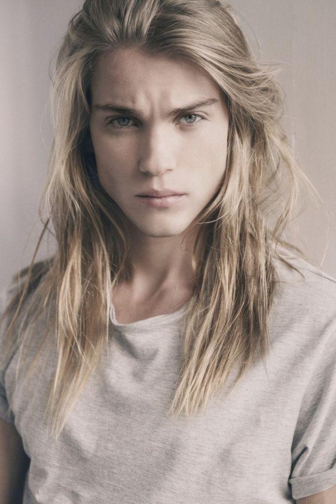 boys with long blonde hair 1000