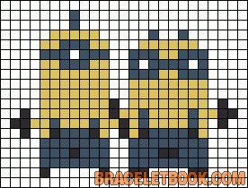 Alpha Friendship Bracelet Pattern #10503 - BraceletBook.com