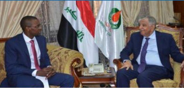 Iraqi oil minister Jabar Ali al-Luaibi Demand Sonangol To Resume Work In Iraq Iraqi oil minister Jabar Ali al-Luaibi [Allibi] has told the Angolan oil company Sonangol to resume its work in developing the Qayara and Najmah oil fields in Nineveh governorate.