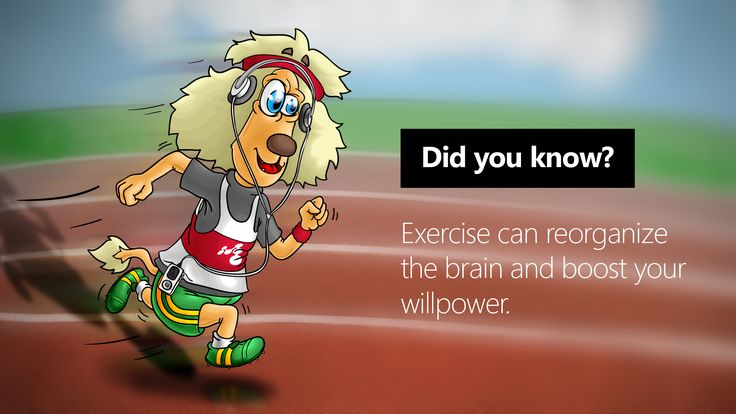 Exercise your mind, stay in shape!
