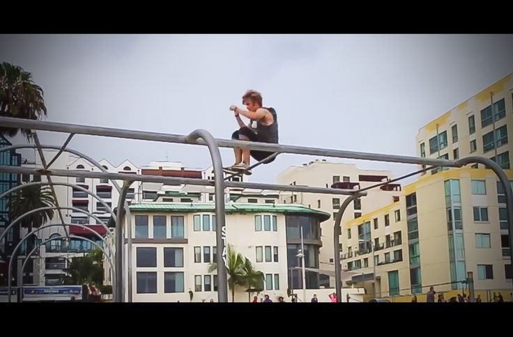 Red Bull's Art Of Motion Online Qualifier, Alfred Scott, Has Some Sick Moves
