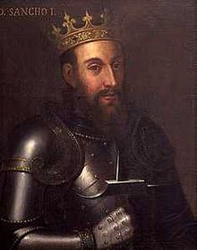 Sancho I (1154 - 1212). Son of Afonso I and Maud of Savoy. He married Dulce of Aragon and had children.