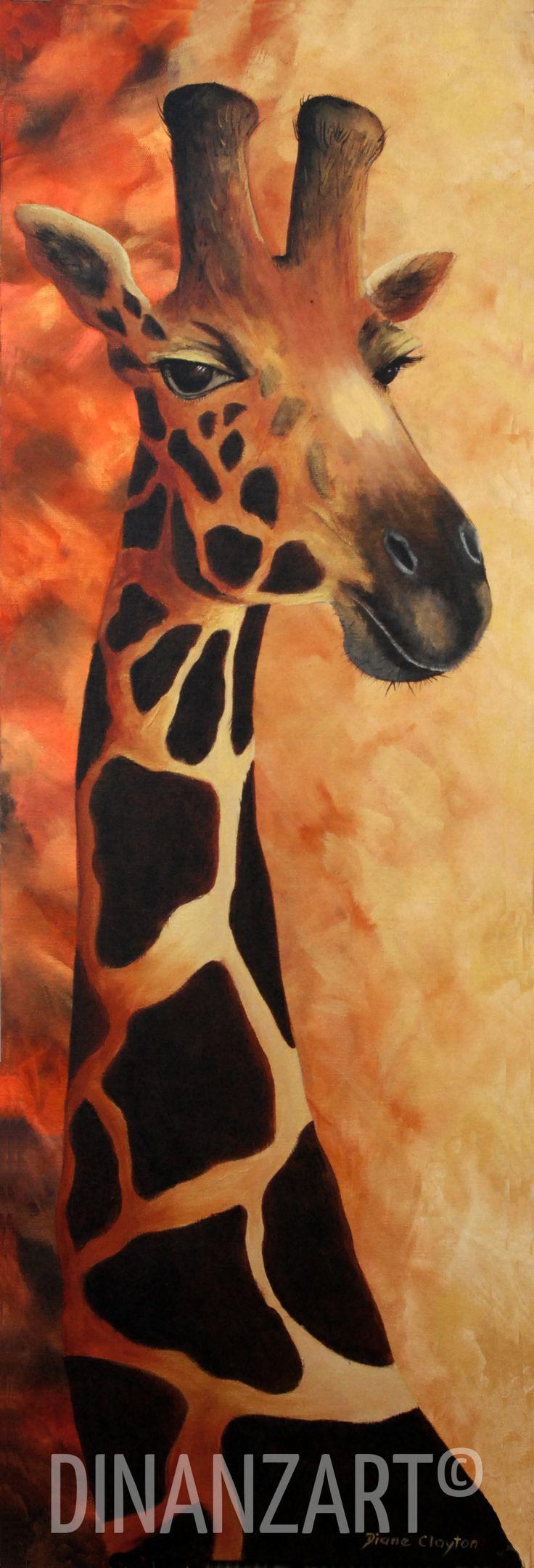 #Giraffe #Metaliic #Art #Artist #dianeclayton