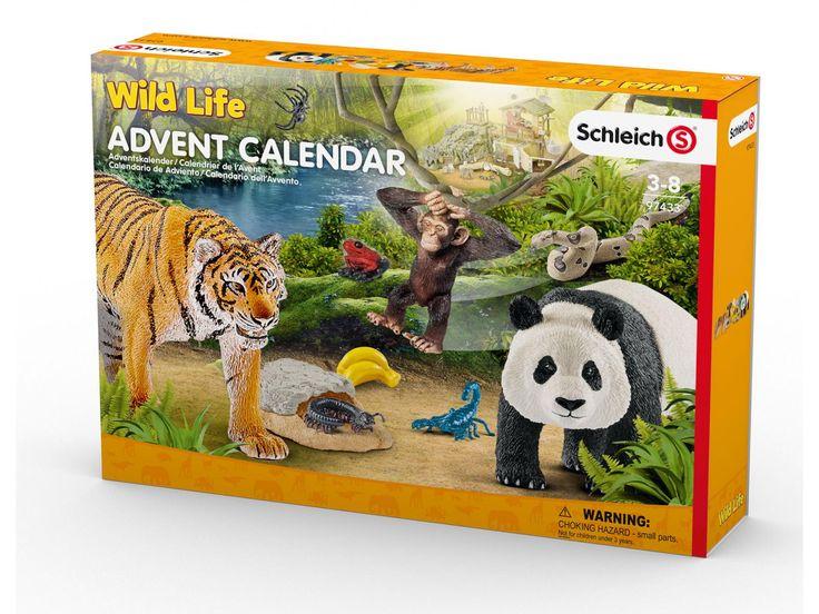 Calendrier de l'avent #schleich   #noel #cadeaudenoel #enfants #calendrierdelavent