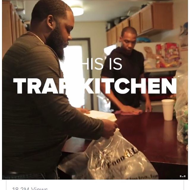 "Have you tried @therealtrapkitchen ? These Two Guys Sell Food On Instagram And It's Better Than Most Restaurants.The Trap Kitchen was born early 2013 in South Central, LA when Chef ""Spank"" decided to sell plates of food to his community. Getting help from his closest friends, News (Sous Chef) and DJ Kev (Delivery Coordinator), they've created a business that is growing rapidly with each passing day. Taking their efforts from just single plates to catering major events, they are definitely on…"