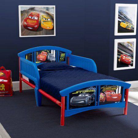 Disney/Pixar Cars Plastic Toddler Bed