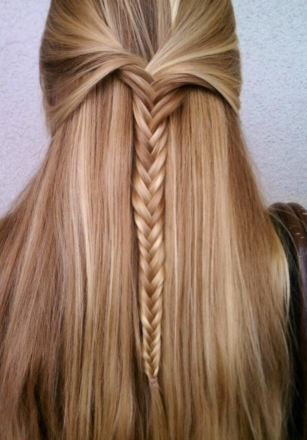 Natural highlighted blonde