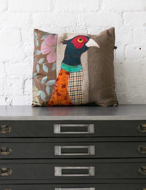 Rose & Grey. (n.d.). Pheasant Applique Cushion. [Online]. Available from: http://www.roseandgrey.co.uk/pheasant-applique-cushion. [Accessed: 14 May 2014] £75