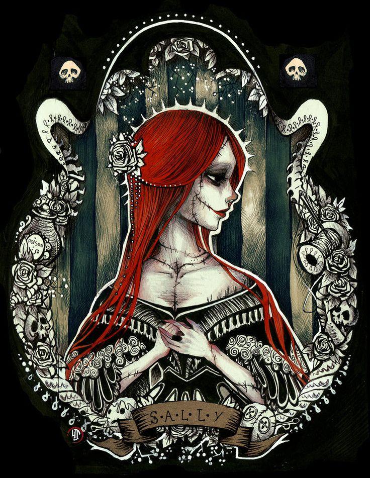 Her Ladyship Skellington by Ink-Yami on deviantART