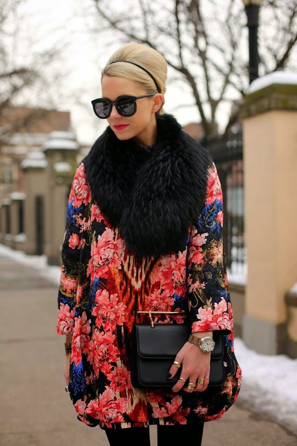 Winter Floral by Atlantic Pacific #fashion