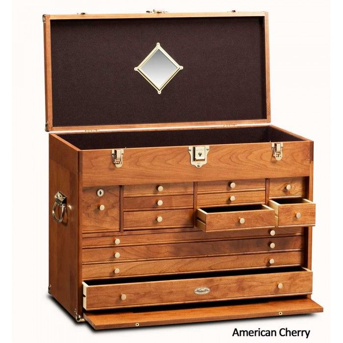 Gerstner 2613 Chest - @ $2000, a bit pricey, but would be wonderful for pipe and pipe supply storage. I could easily fit my whole collection in here, including my pre-1900 German pipes.