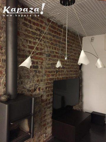 Design Luster 4 lampen (LED of Halogeen), Verlichting, Liedekerke | Kapaza.be